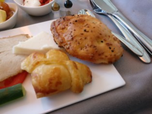 Turkish Airlines Business Class Breakfast