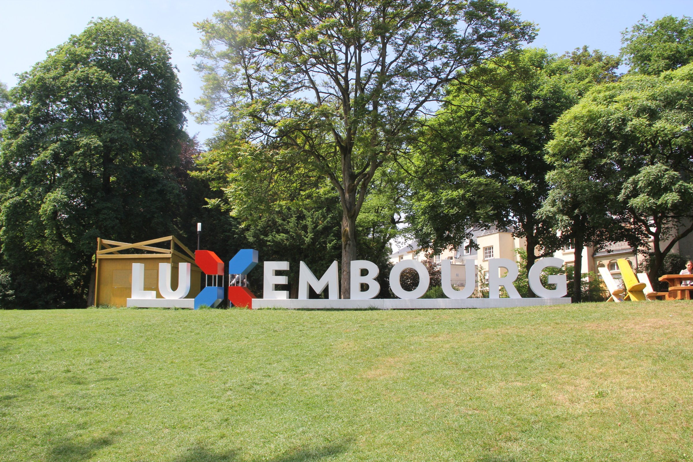 Luxembourg Sign
