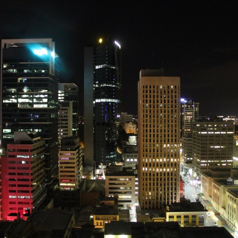 Hilton Brisbane Executive Room View