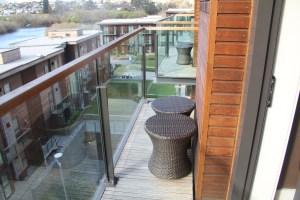 Hilton Queenstown Deluxe Lake View Room Balcony