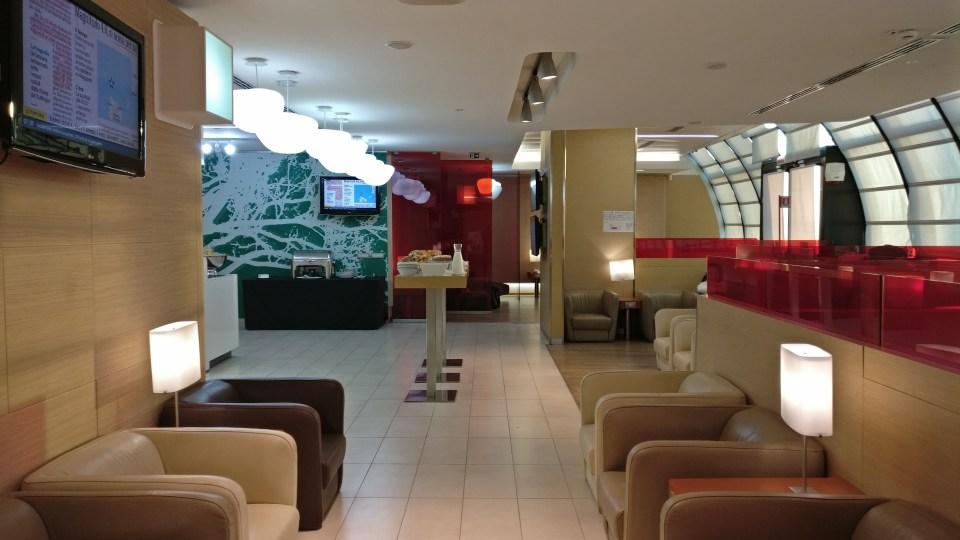 Casa Alitalia Rome D Seating