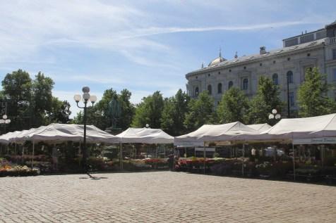 Oslo Flower Market