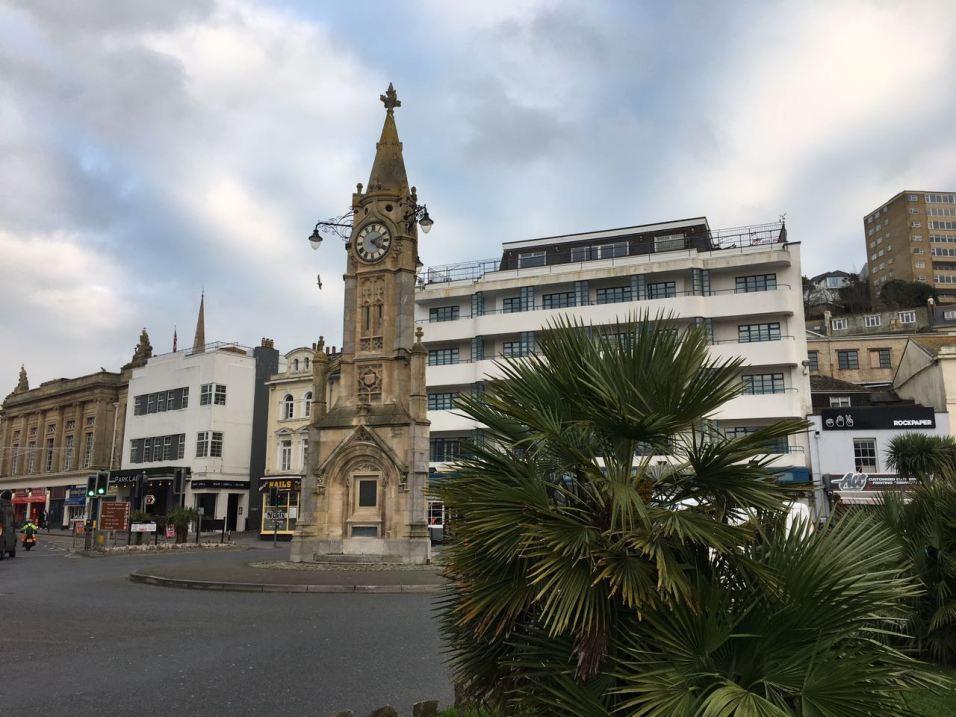 Torquay Clock Statue