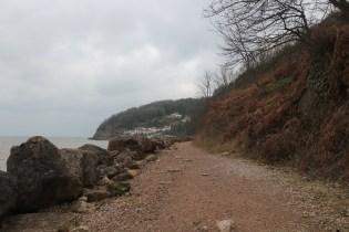 Torquay Oddicombe Beach Pathway