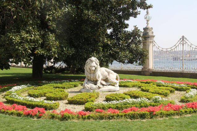 Dolmabahce Palace Gardens Istanbul