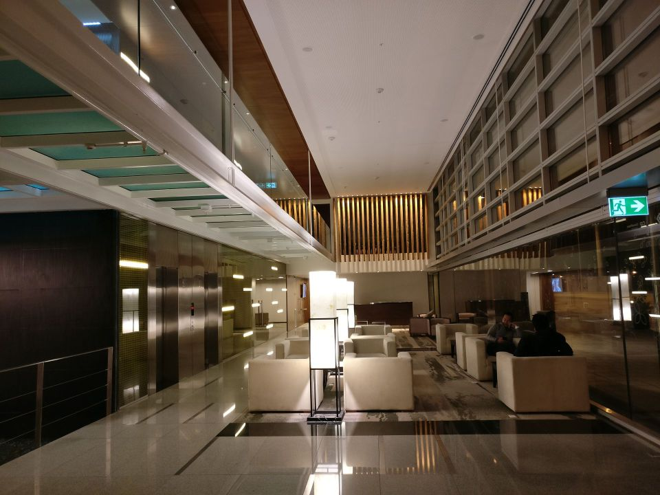 Hilton Garden Inn Montevideo Lobby