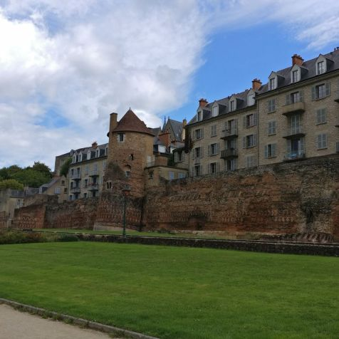 Historic City Wall Le Mans