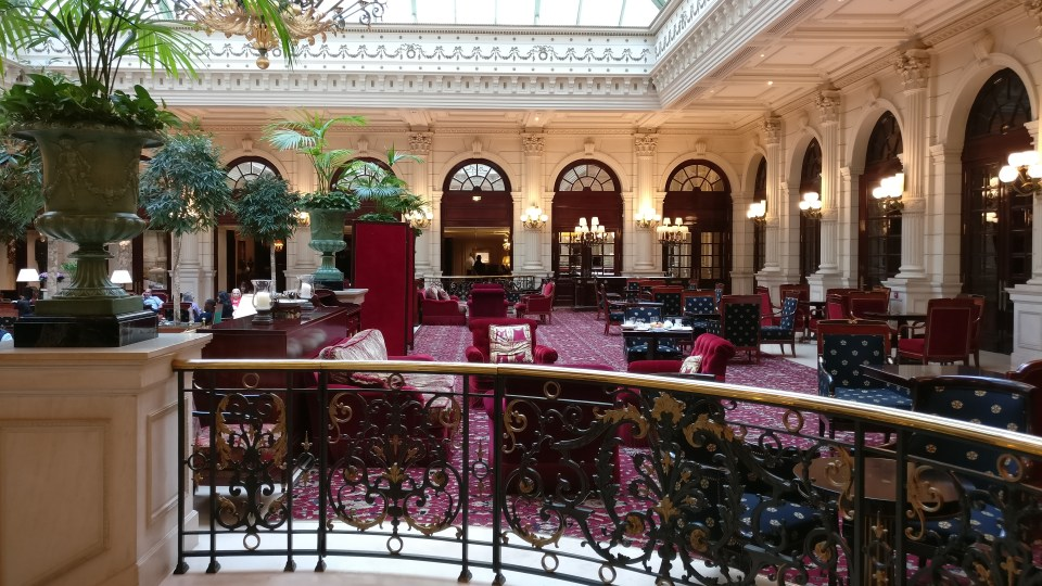 InterContinental Paris Le Grand Lobby