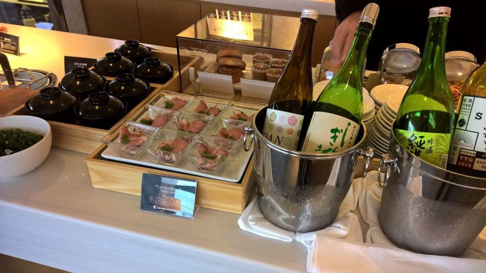 JAL Sakura Lounge Tokyo Narita Satellite Buffet