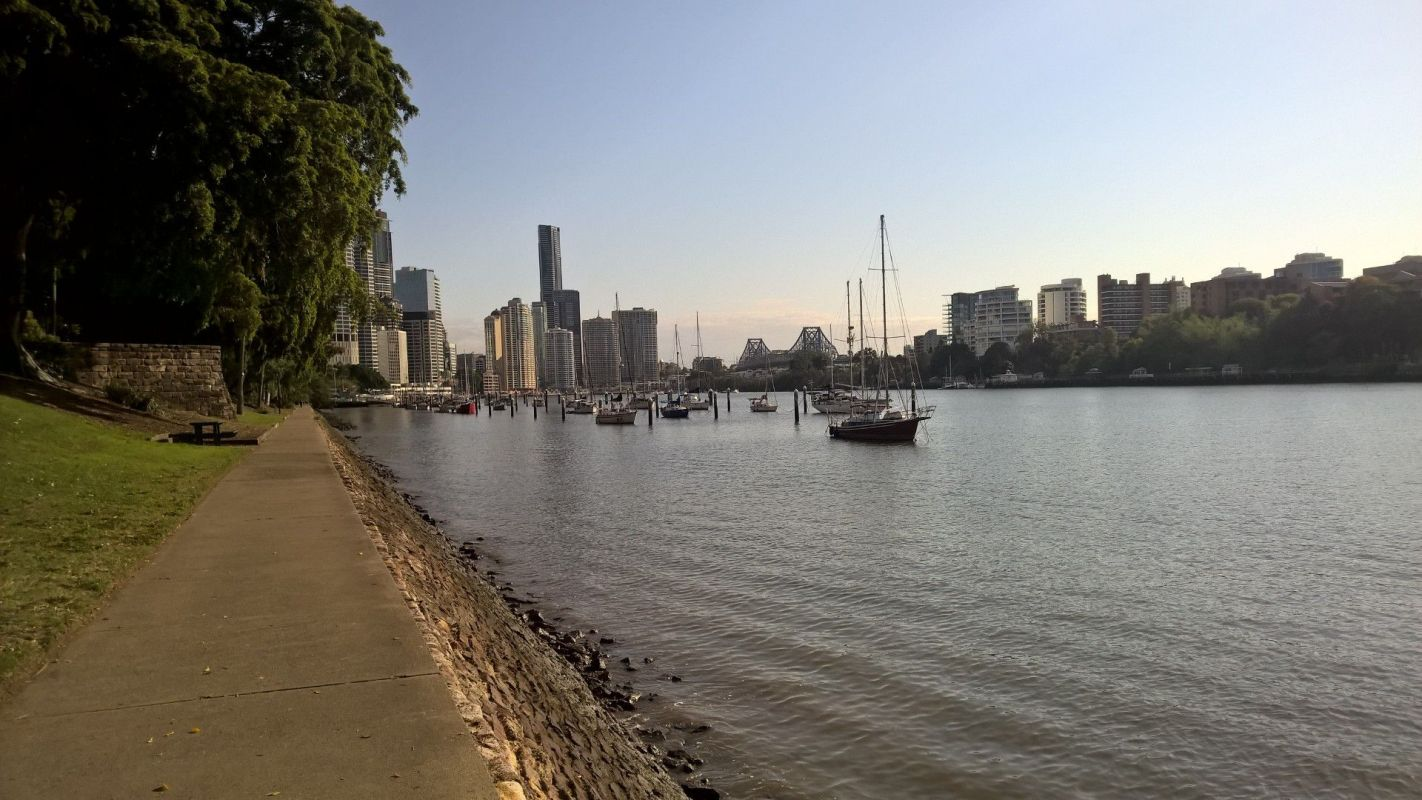 Running in Brisbane