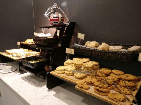 United Club London Heathrow Buffet