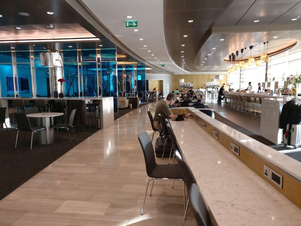 United Club London Heathrow Seating
