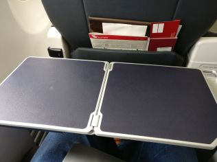 Virgin Australia Domestic Business Class Table
