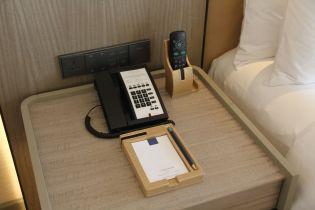 Conrad Manila King Premier Suite Bedroom