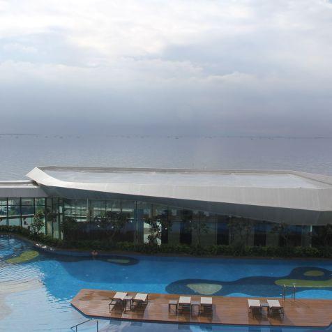 Conrad Manila King Premier Suite View