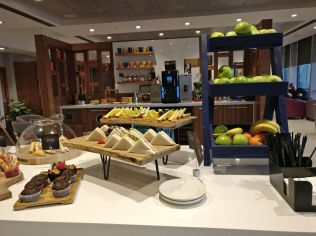 Executive Lounge Dublin T1 Buffet