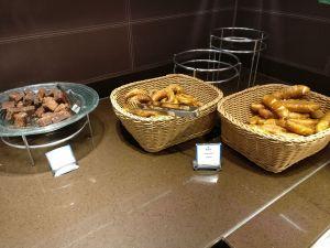 Hilton Frankfurt Airport Executive Lounge Evening Spread
