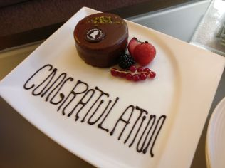 InterContinental Vienna Birthday Cake