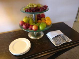 InterContinental Vienna Club Lounge Snacks