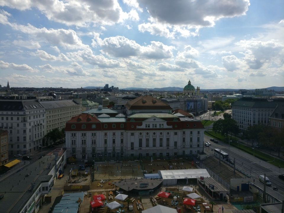 InterContinental Vienna Club Lounge View