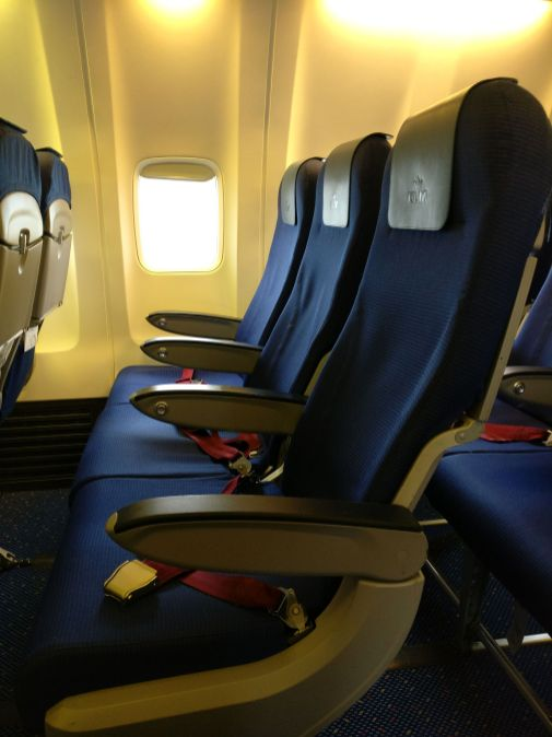 KLM Economy Class Boeing 737 Seating