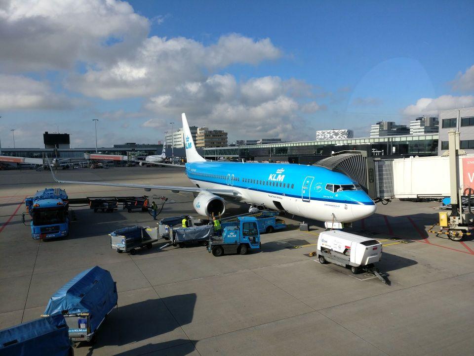 KLM Economy Class Boeing 737