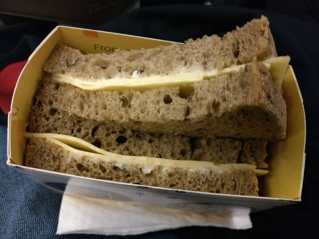 KLM Economy Class Embraer 190 Snack