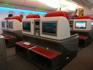LATAM Business Class Boeing 787-9 Cabin