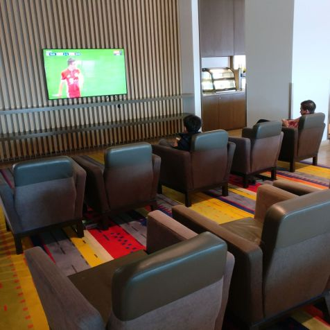 LATAM Lounge Santiago Seating