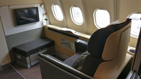 Lufthansa First Class Seat