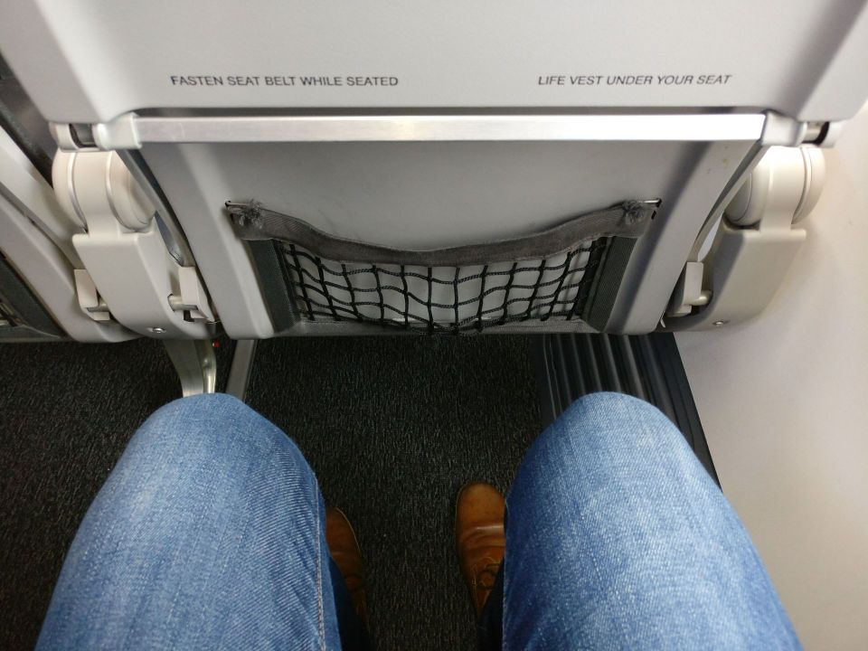 Norwegian Economy Class Seat Pitch