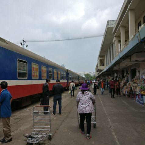 Train Vietnam Danang Station
