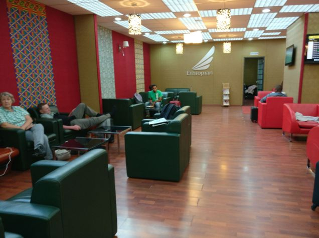 Ethiopian Airlines Cloud 9 Lounge Addis Ababa Seating
