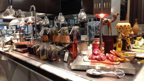 Hilton Bomonti Istanbul Breakfast