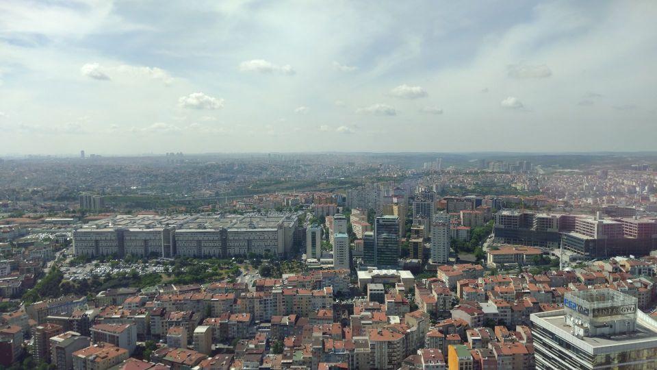 Hilton Bomonti Istanbul Executive Lounge View