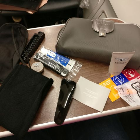 Turkish Airlines Business Class Airbus A330 Amenity Kit