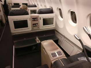 Turkish Airlines Business Class Airbus A330 Seat