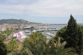 Cannes Castle View