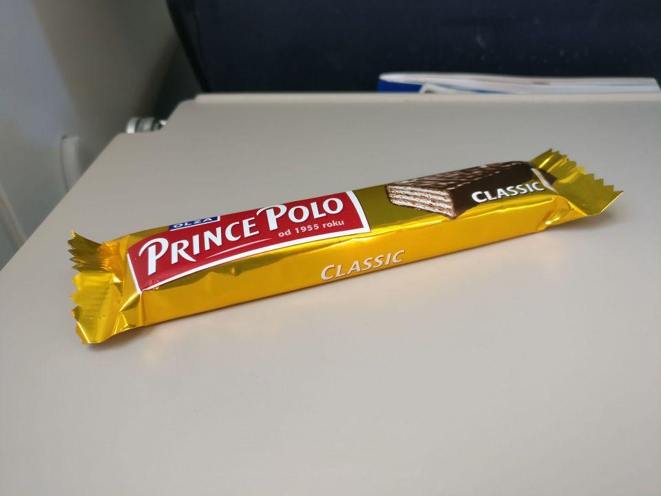 Nordica Economy Class CRJ 900 Snack