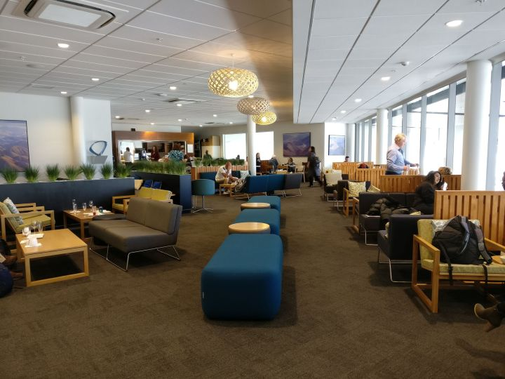 Air New Zealand Koru Lounge Queenstown