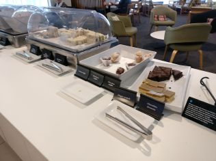 Air New Zealand Koru Lounge Queenstown Buffet