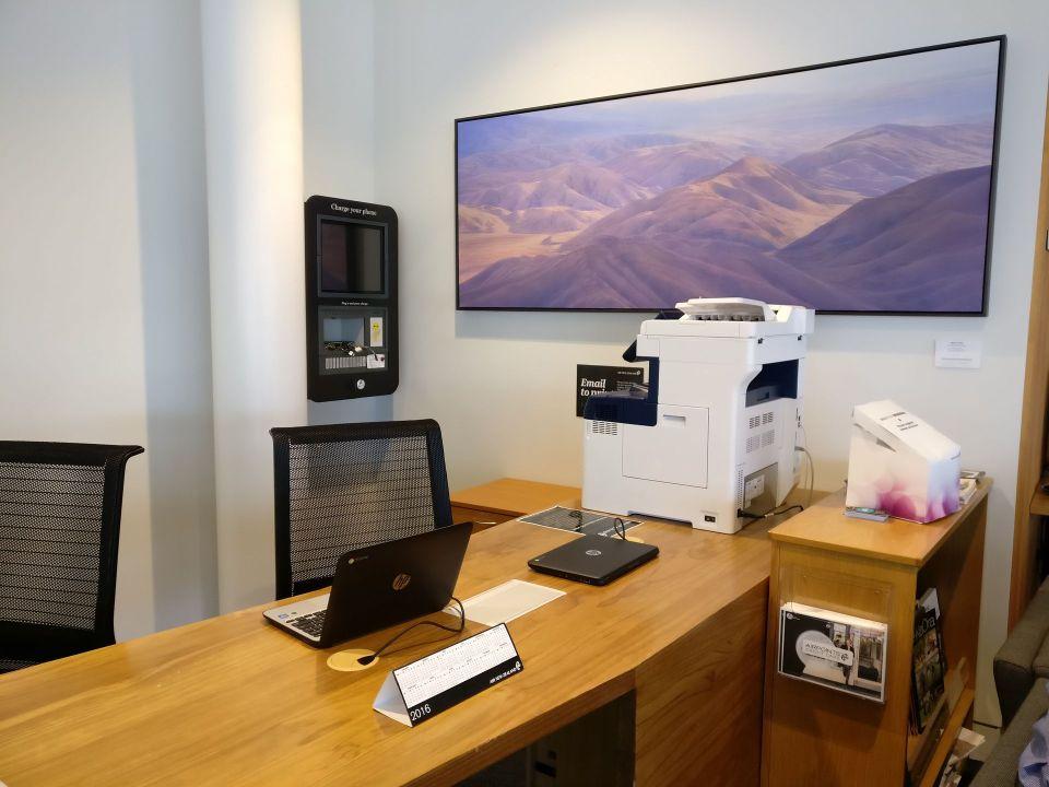 Air New Zealand Koru Lounge Queenstown Business Center