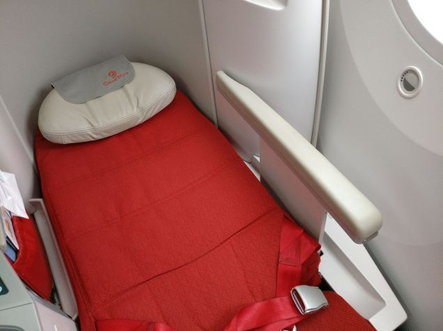 Ethiopian Airlines Business Class Boeing 787 Bed