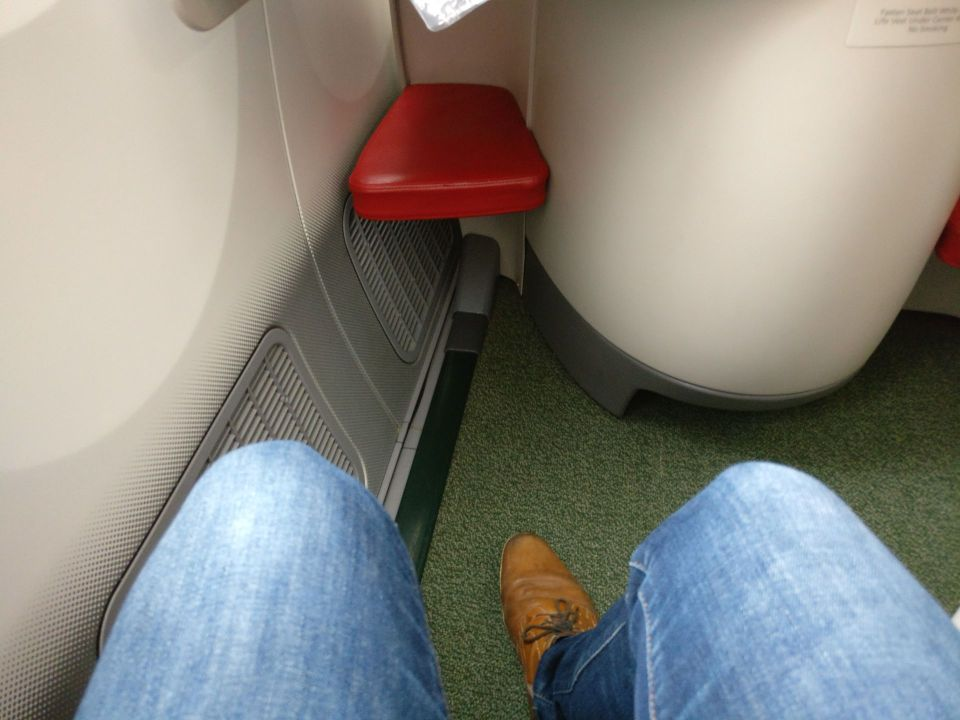 Ethiopian Airlines Business Class Boeing 787 Seat Pitch