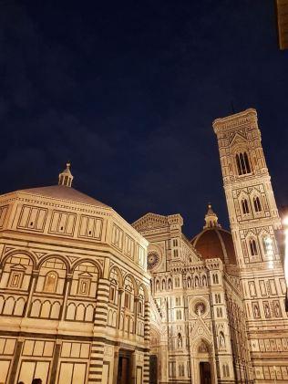 Florence Duomo by night