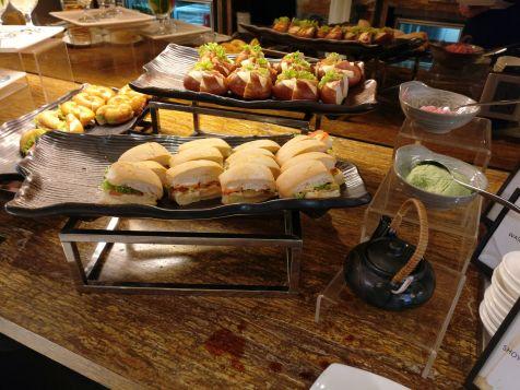 Hilton Petaling Jaya Executive Lounge Dinner