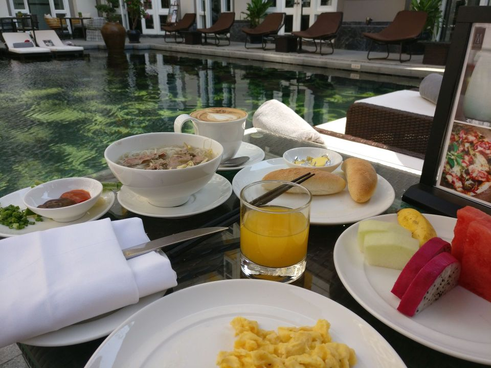 Hotel Royal Hoi An Breakfast