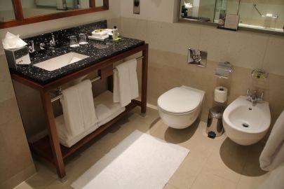 InterContinental London Park Lane One Bedroom Suite Bathroom