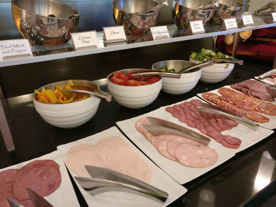 InterContinental Prague Breakfast
