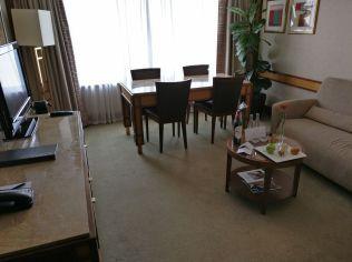 InterContinental Prague Junior Suite Living Room